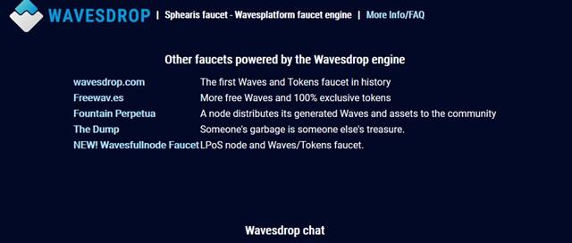 仮想通貨wavesのfaucet01